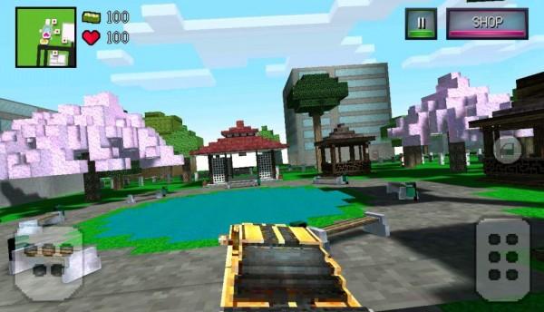 Block city Wars на андроид