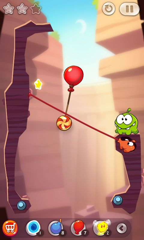 Cut the Rope 2 андроид