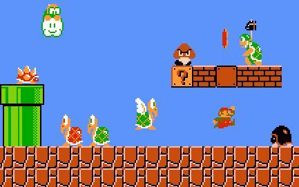 Эмуляция Марио на Андроид