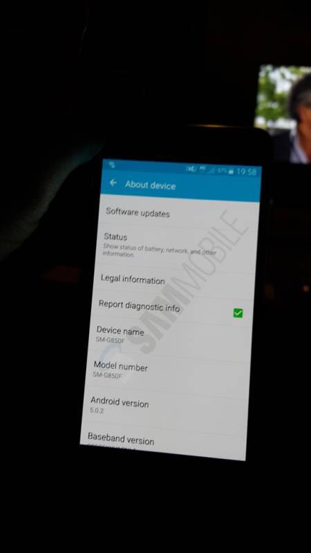 Android 5.0.2 на Galaxy Alpha