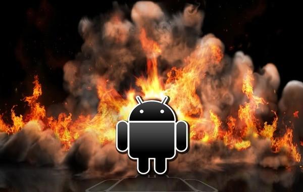 греется андроид