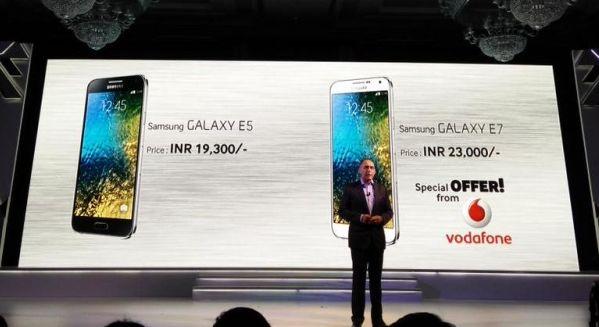 Galaxy E5 и Galaxy E7