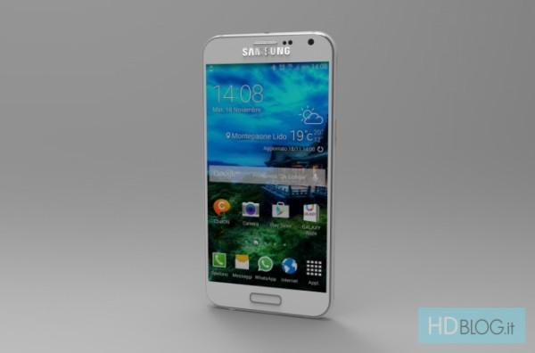 Рендер Galaxy S6