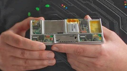 Модульный смартфон