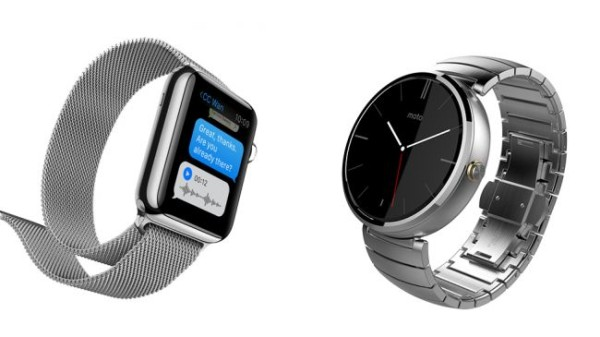 Moto 360 и Apple Watch