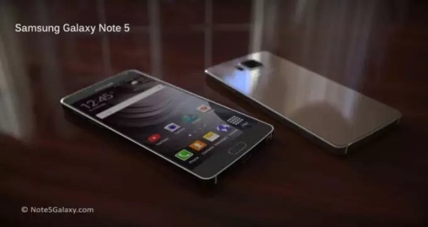 Концепт Galaxy Note 5