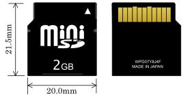 Карта памяти MiniSD