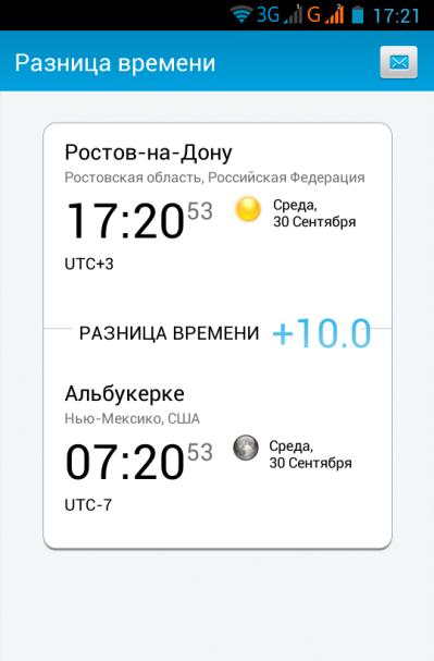 TimeServer время андроид