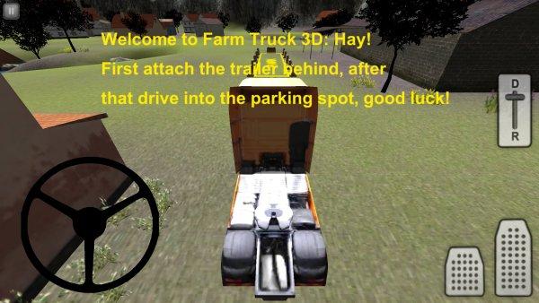 Farm simulator: hay