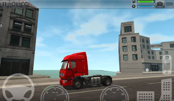 Truck simulator: The sity