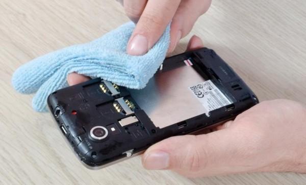 Просушка смартфона
