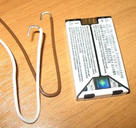 зарядить аккумулятор от блока питания