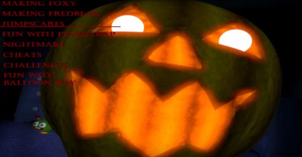 fnaf 4 хеллоуин