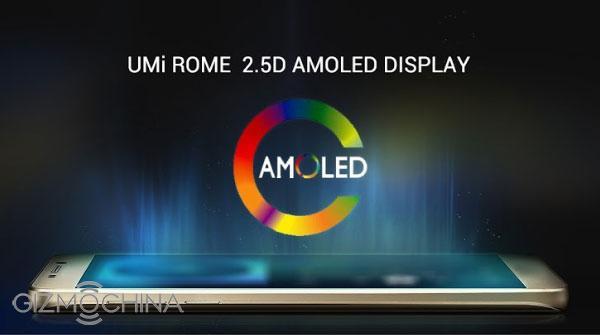 UMi ROME получит AMOLED-дисплей и8-ядерный процессор