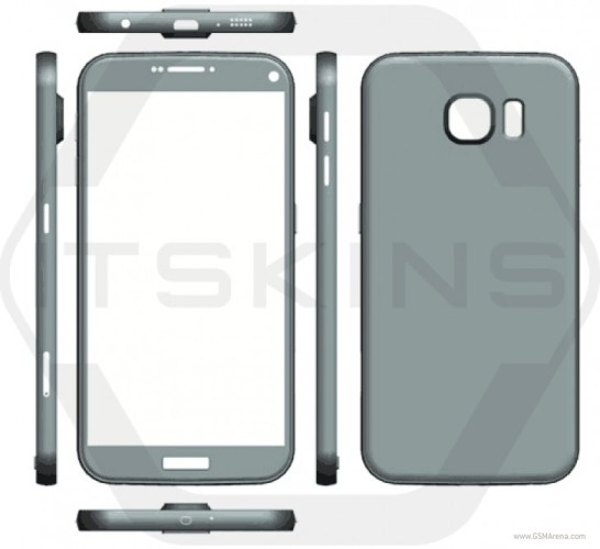 Рендер Galaxy S7