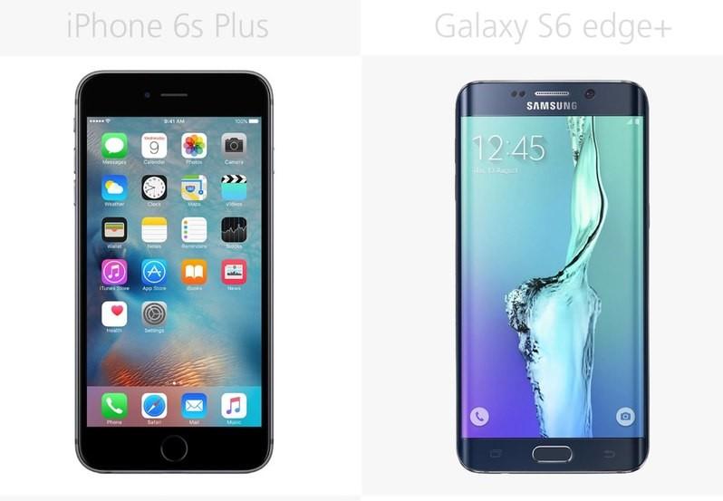 iPhone 6S Plus VS Samsung Galaxy S6 edge+
