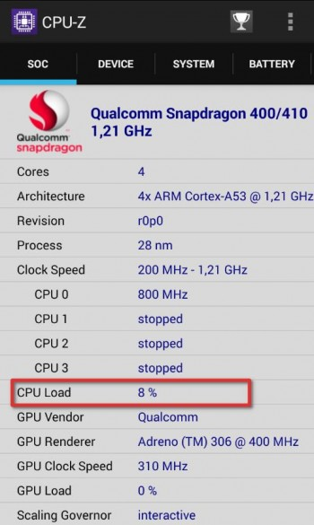 cpu z нагрузка процессора