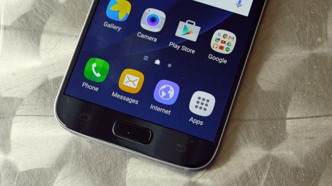 Galaxy S7 сканер