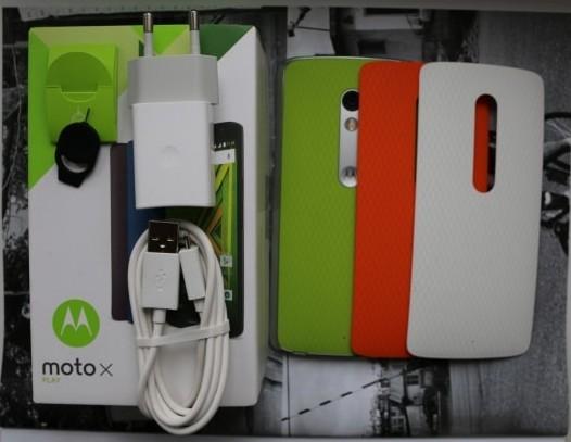 Комплектация Moto X Play