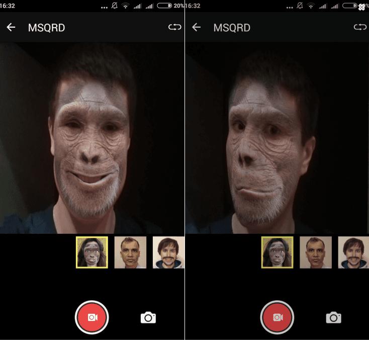 маски для лиц андроид