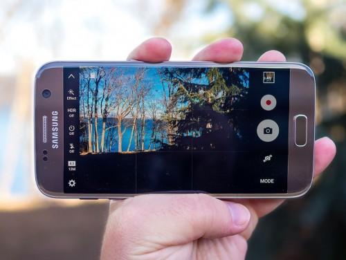 Galaxy S7 интерфейс камеры