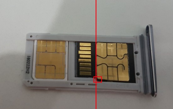 Установкa SIM-карт и microSD