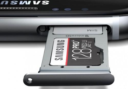 Объем свободной памяти Galaxy S7