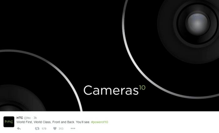 тизер HTC 10