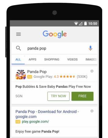 google play опробовать игру