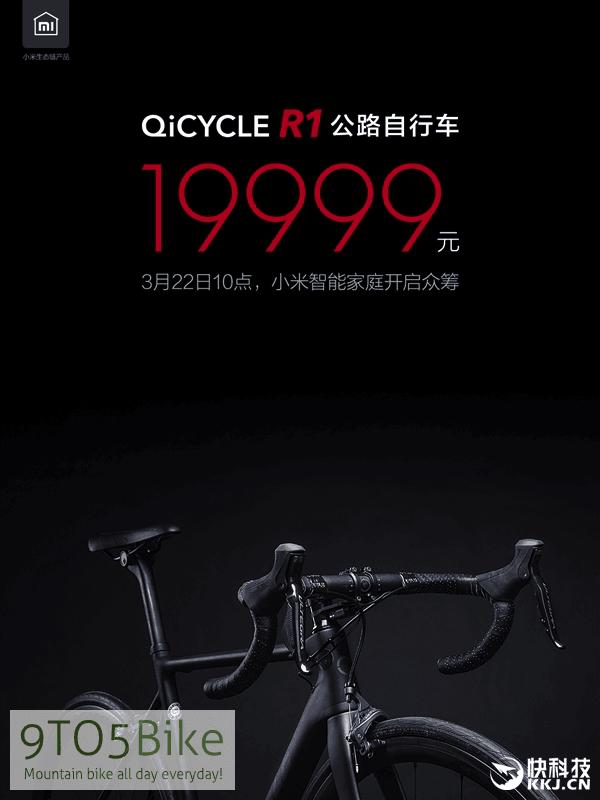 Xiaomi QiCycle R1 цена