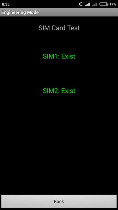 проверка SIM карт