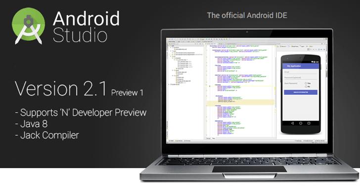 Android Studio 2.1
