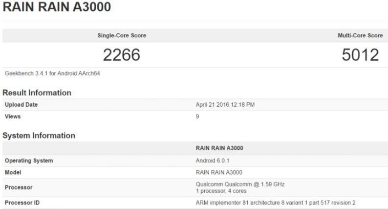 OnePlus 3 в GFXbench