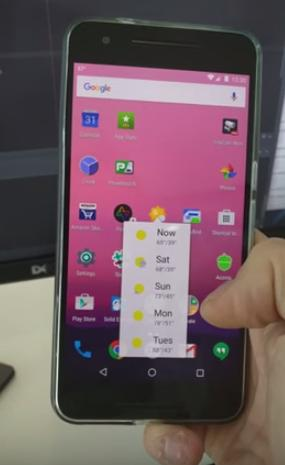 3D touch на Android