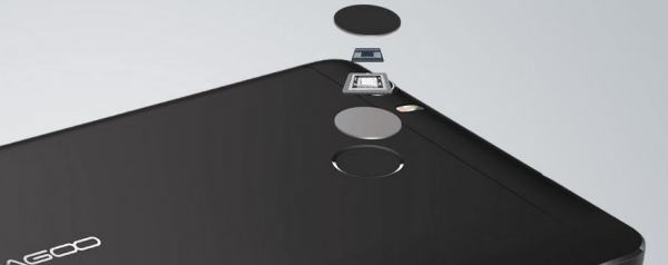Leagoo Shark 1 сканер