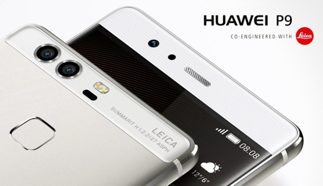 двойная камера Huawei P9