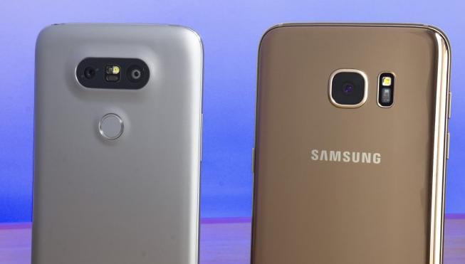 LG G5 и Galaxy S7