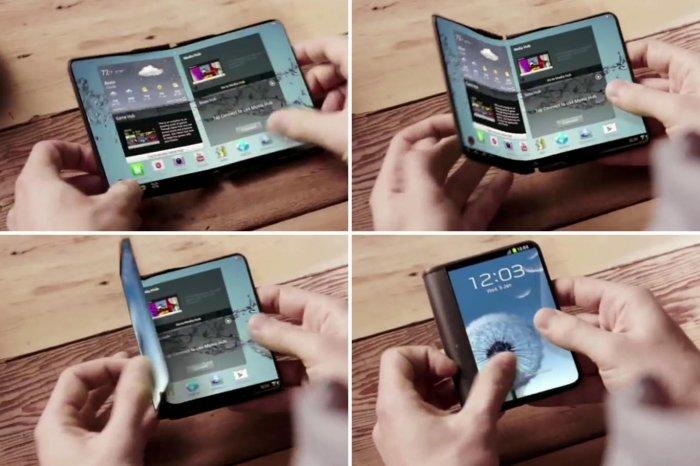 В последующем году Самсунг выпустит складной смартфон Galaxy X