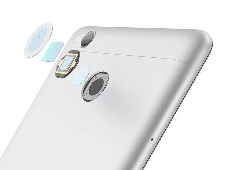 Xiaomi Redmi 3S сканер отпечатков