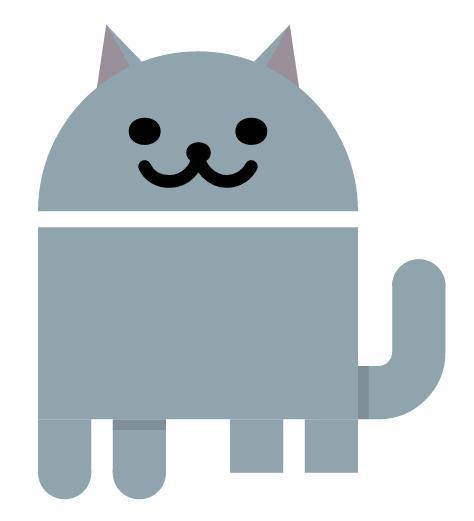 Эмоджи-кот в Android Nougat