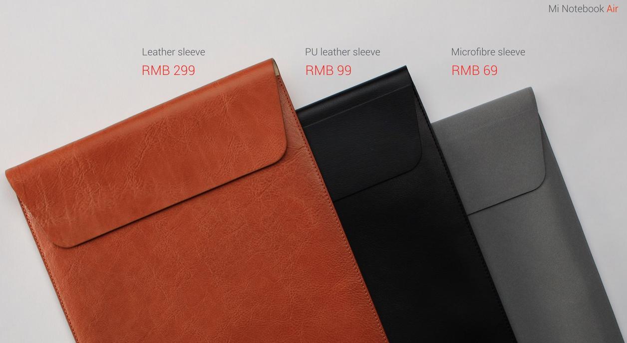 Xiaomi MI Notebook Air чехлы