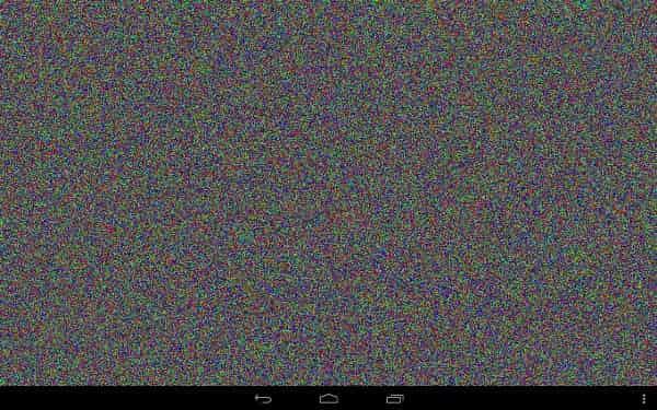 Проверка Андроид на битые пиксели