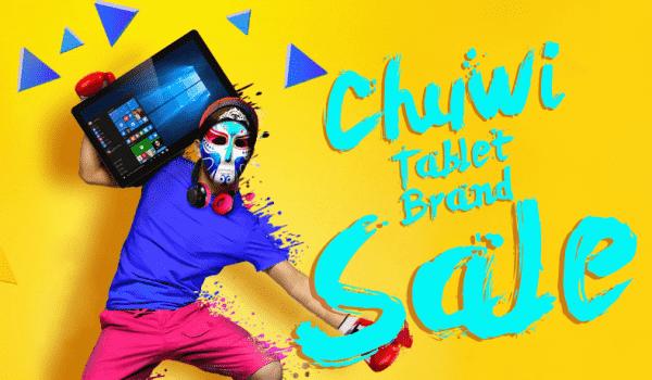 Распродажа планшетов Chuwi в GearBest