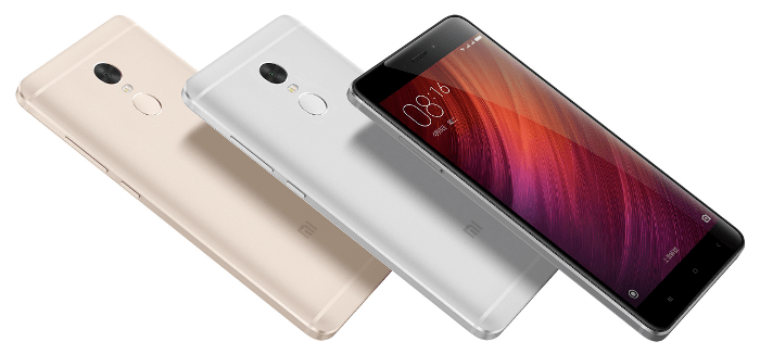 Xiaomi Redmi Note 4 цвета