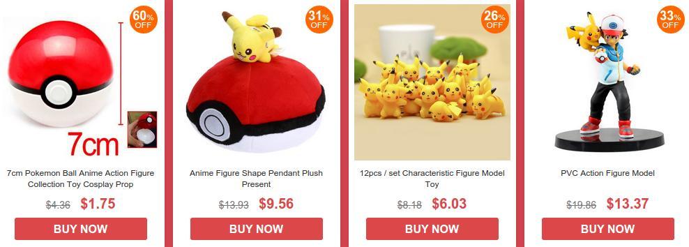 распродажа Pokemon GO