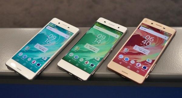 Смартфоны Sony с Android 7.0 Nougat