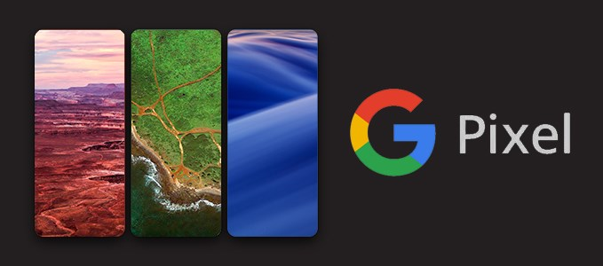 обои на Google Pixel