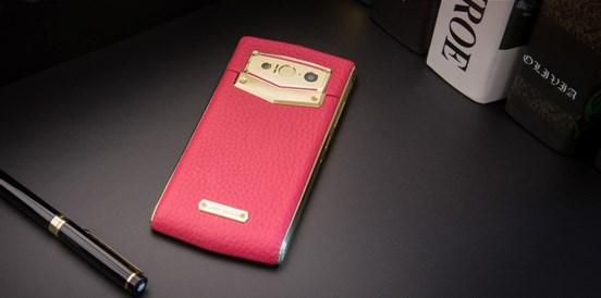 Leagoo V1 pink