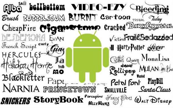 Android-шрифты