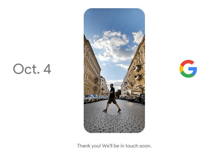 Дата выхода Google Pixel